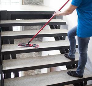 نظافة سلم العمارة